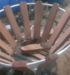 Chậu gỗ trồng lan, bán sỉ, lẻ